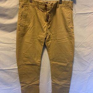 Men's khaki slim fit flex chino pant size W31 L30